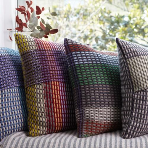 Basket weave cushions