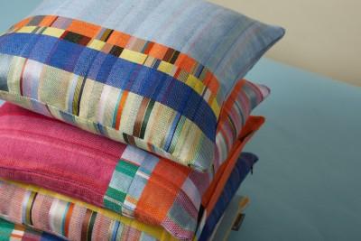 New Silk & Linen Cushions